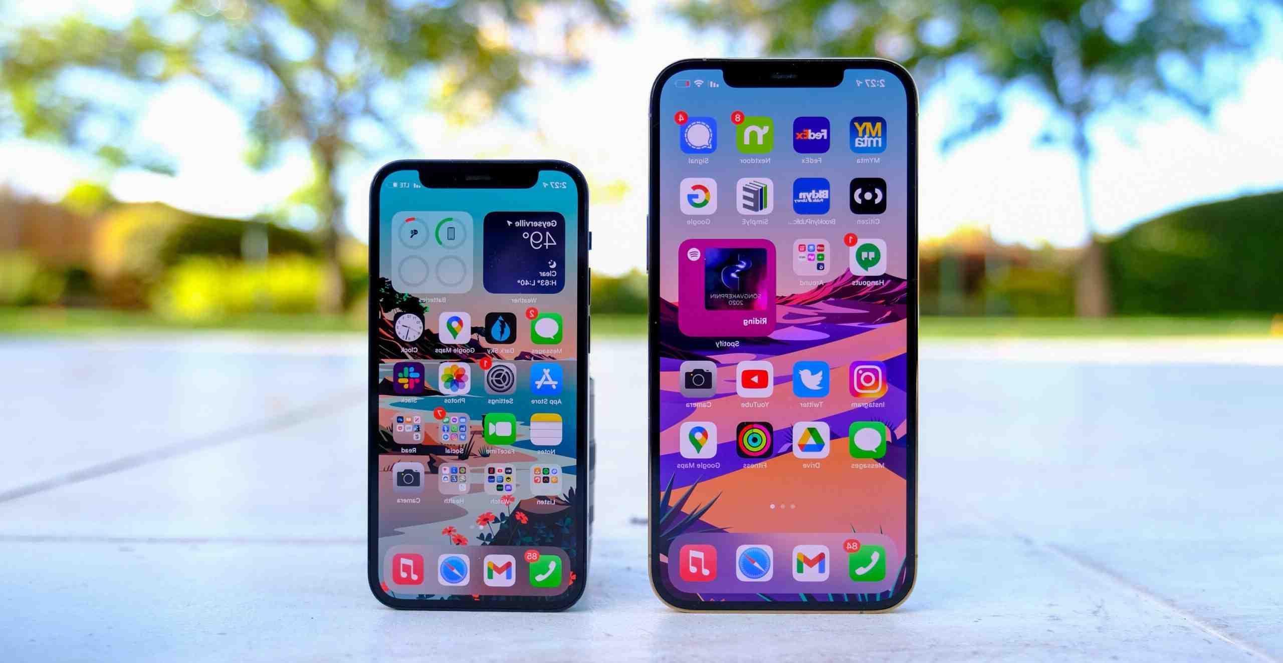 Quelle est le prix de l'iPhone 12 mini ?