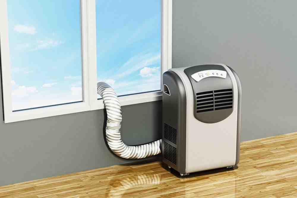 Comment mettre tuyau evacuation climatiseur mobile ?
